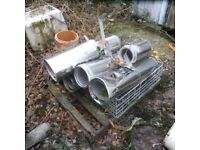 Stainless steel s/s chimney sections