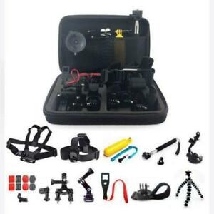 ** GoPro camera accessories hero silver black chest suction kit case SALE**