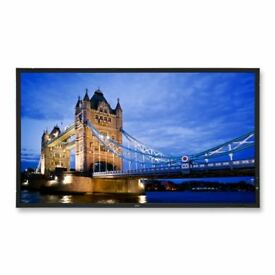 "46"" LED-backlit LCD flat panel display"