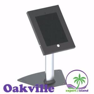 PyleHome (PSPADLK12) Tamper-Proof Anti-Theft iPad Kiosk Safe Security Desk Table Stand, Holder, Public Display Case