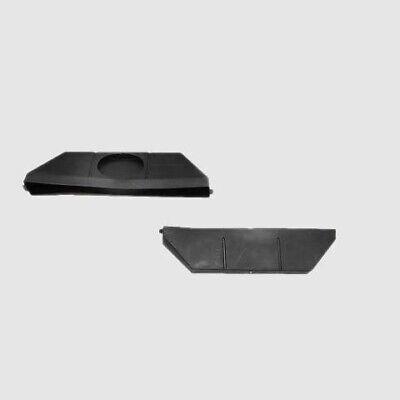 Sea-Dog Boat Collector Box | 16 1/4 x 4 Inch Black (Pair)