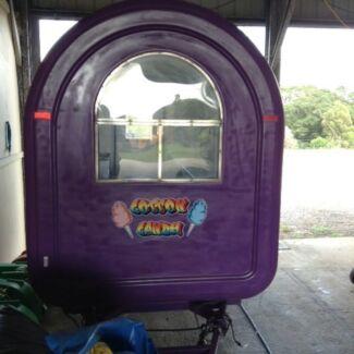 Food trailer  fairy floss carnival
