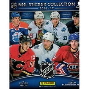 2016-2017 Panini NHL Hockey Stickers - Trade or 15-20 Cents Each