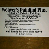 Residential,Farm,and Commercial Painting.