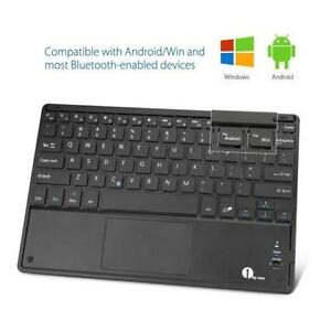 Ultra-Slim Wireless Bluetooth QWERTY Keyboard for Android and Wi