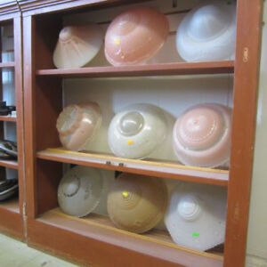 Antique Glass Light Shades - Various Styles & Prices