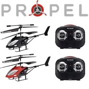 NEW 2PK PROPEL RC HELICOPTER SET 220859071 TEMPEST II 2 PACK  REMOTE CONTROLLED TOY DRONE INDOOR