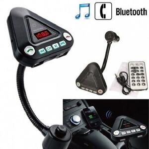 Wireless Bluetooth Car Kit - MP3 Player, Bluetooth, FM Transmitt