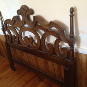 Solid Wood Spanish-Style Bedroom Set