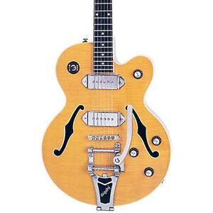 Guitare électrique Epiphone WILD KAT NATURAL W/BIGSBY