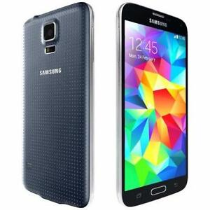 SAMSUNG GALAXY S5 BLACK UNLOCKED WITH 30 DAYS WARRANTY CLEARANCE PRICE