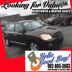 2009 Kia Rondo V6 Heated Seats Bluetooth Warranty Included