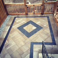 Interlock flagstone rip outs or installers