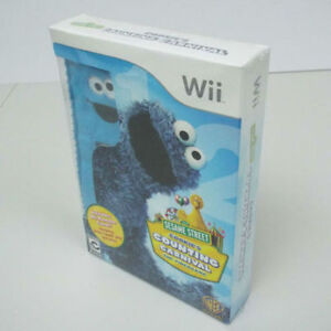 NEW Sesame Street Cookie's Counting Carnival The Videogame WII