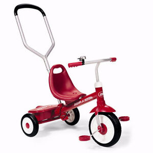 Deluxe Steer & Stroll Trike by Radio Flyer - Kid's Bike $55