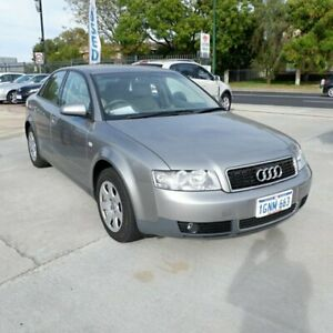 2003 Audi A4 B6 Multitronic Silver 1 Speed Constant Variable Sedan St James Victoria Park Area Preview