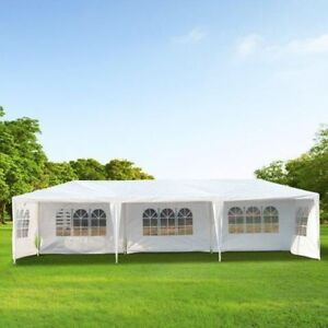 10x30' party tent with 8 sides