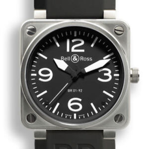 Bell&Ross BR01 92 Stainless Steel Box/Papers    (sell /trade)