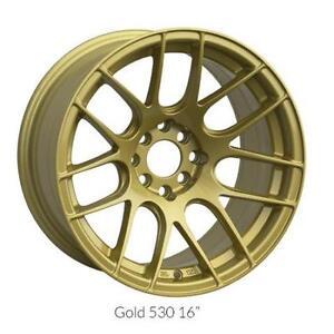 "Roues 17"" XXR Gold Subaru Civic Mazda VW Roue Mag 17"