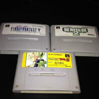 Super Nintendo SNes Famicon Jap 20$ for all 3