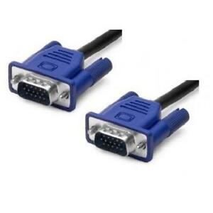 6 ft. VGA to VGA - 15-pin M/M Cable - Blue Molded Connectors - B