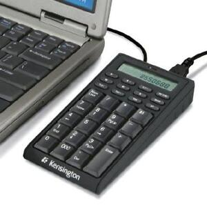 Kensington Notebook Keypad/Calculator With USB Hub - K72274US