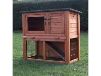 Brand New Two Tier Rabbit Hutch- £50 Quick Sale