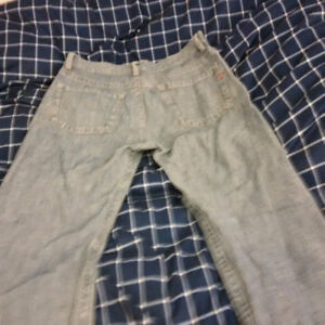Diesel men jeans light blue 33W x 33L made in Italy relaxed fit