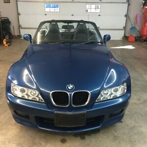 2000 BMW Z3 right side steering Convertible
