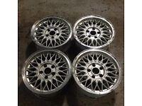 "BBS 15"" 7J 5x120 Deep dish, original alloy wheels, Classic wheels, not ats, azev, lenso"