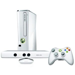 Xbox 360 with Kinect - White