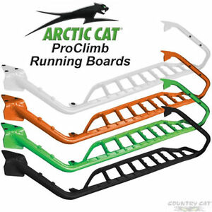 Arctic Cat ProClimb Running Boards - White