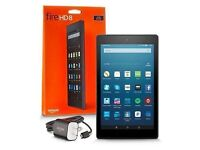 Kindle Fire HD 8 new and sealed