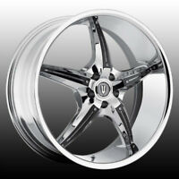 "NEW!! CHROME W/BLACK 20"" rims/TIRES!! mustang 370z g37 TL accord"