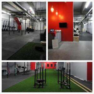 "High Quality 4' x 6' x 3/4"" Rubber Gym Flooring - Great for CrossFit and Olympic Lifting!"