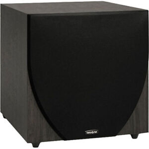"VELODYNE EQ-MAX 12"" POWERED SUBWOOFER TO FIX OR FOR PARTS - FJN"