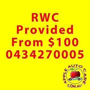 Roadworthy From $100* Organized or Provided Endeavour Hills Casey Area Preview