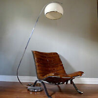 Vtg Mid Century Chrome Arc Lamp - $300