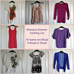 Ladies's/Teen Summer Lot - Sized X-Small/Small