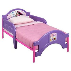 Mini Mouse Toddler Bed