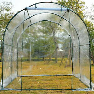 8'x6' Transparent Walk In GreenHouse / Plants Dome GreenHouse