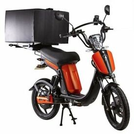 Eskuta SX250D Electrically Assisted Pedal Cycle (EAPC) ELECTRIC DELIVERY BIKE Deliveroo UberEats