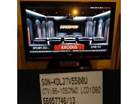 "Sony KDL-37V5500 TV 37"" Full HD 1080p LCD screen"