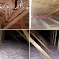 Up to $1500 government rebate / Attic insulation (Mississauga)