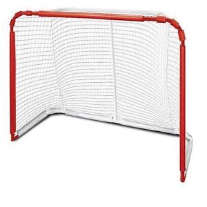 """New 54"""" steel *FOLDABLE* hockey net junior goal street velcro"""