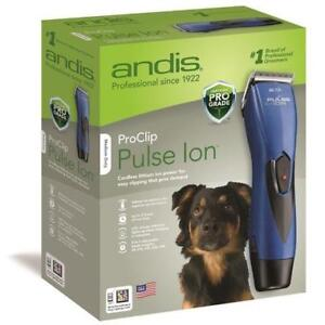 Andis Pulse Ion Clipper Kit Blue - BRAND NEW