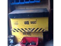 cchoIce off two van vault boxes £50 each with keys Van Vault 2 S10250 Tool Security Box
