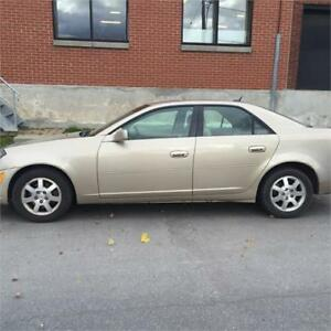 Cadillac CTS 2005$1995finance maison dispo 514-793-0833
