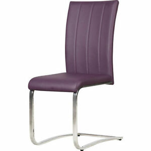 2 Purple Tori Dining Chairs New in a Box!