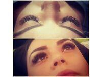 eyelash extensions Russian volume lashes, mega volume lashes